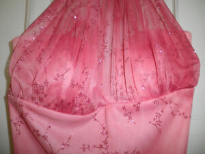 Womens pink sparkly size small dress London Ontario image 3