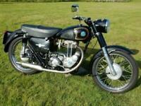 AJS 16MS 1957 350cc MOT'd June 2021 - Please watch the video