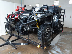 2015 Double ATV Trailer or 1 SxS, New Tires, Insp Nov 2020