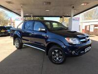 2007 Toyota Hilux 3.0 D-4D Invincible Double Cab Pickup 4dr PICKUP in BLUE