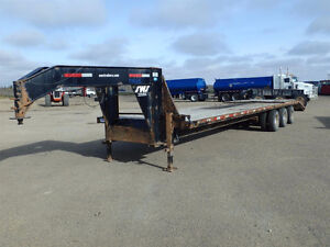 2010 SWS GB36310 36ft Equipment Trailer up for AUCTION