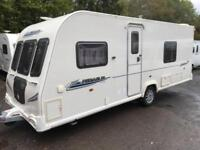 ☆ 2010/11 BAILEY PEGASUS 534 ☆ 4 5 BERTH TOURING CARAVAN FIXED BED ☆ ALU TECH ☆