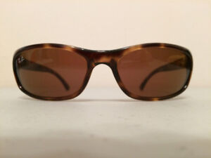 Rayban brown/marble for men with case