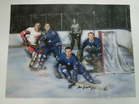 Last Line of Defence Autographed Painting