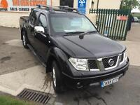 Nissan Navara 2.5dCi auto Outlaw 74000 miles no vat nav leather roll top