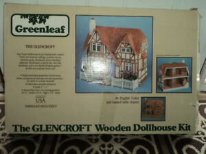 Beautiful dollhouse with furniture Kit