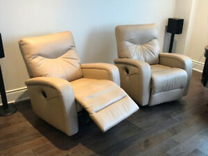 High Quality Leather Recliners