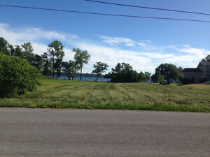 PEACEFUL AND SCENIC WATERFRONT LOT ON LAKE ONTARIO