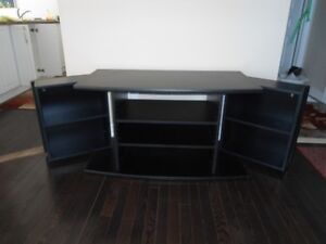 TY stand black with big storage for CD