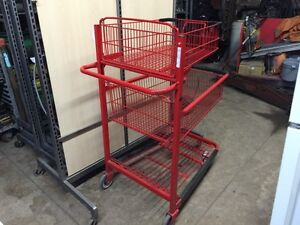 Commercial Shopping carts, racking and shelving