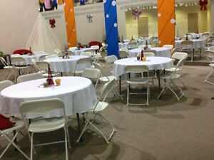Tents Chairs Tables Speakers Food wares for rent!! Oakville / Halton Region Toronto (GTA) image 2