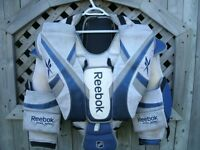 goaltenders chest and arms set RBK