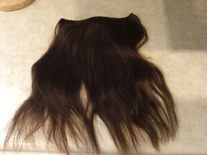 Brand new medium brown flip in extensions