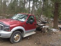 Two Ford F550 4x4 7.3 diesel