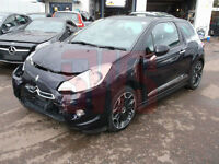 2013 Citroen DS3 1.6 VTI DStyle Plus DAMAGED REPAIRABLE SALVAGE