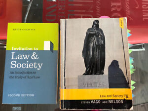 Law and Society by Calavita and Law and Society by Vago