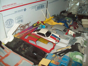 un wanted plastic model cars