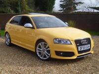 2009 59, Audi S3 2.0T FSI quattro 3Dr manual ++ IMOLA YELLOW VERY RARE!!