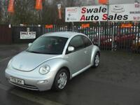 2001 VOLKSWAGEN BEETLE 2.0L FULL SERVICE HISTORY IN GREAT CONDITION
