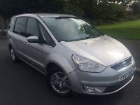 2007 New shape Ford Galaxy Ghia 2.0 tdci 6 speed # 7 seater mpv # leather # parking sensors