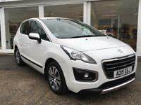 Peugeot 3008 Crossover 1.6HDi ( 115bhp ) 2015MY Active WHITE