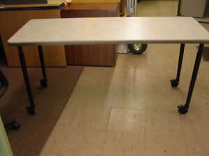 Adjustable Leg Tables