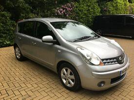 2008/58 Nissan Note 1.4 16v Acenta
