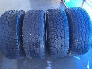 Set of 4 275/55/R20 Nitto terra grapplers