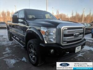 2016 Ford F-350 Super Duty Platinum  |6.7L|Rem Start|Nav|Moonroo