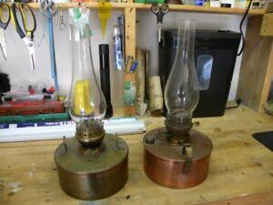 Copper Oil Lanterns
