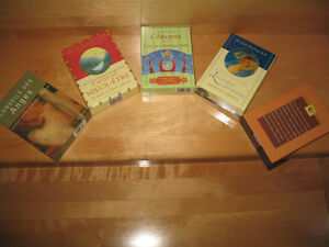 5 Différents coffrets de cartes ésotérique