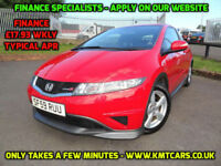 2009 Honda Civic 1.4i-VTEC Type S - KMT Cars