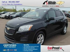 2013 Chevrolet TRAX FWD Wagon 4 Door