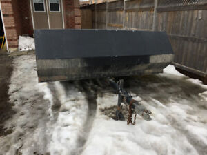 MUST GO $500 ! 1993 double wide snowmobile trailer