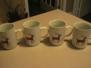 3 Sets of 4 Mugs