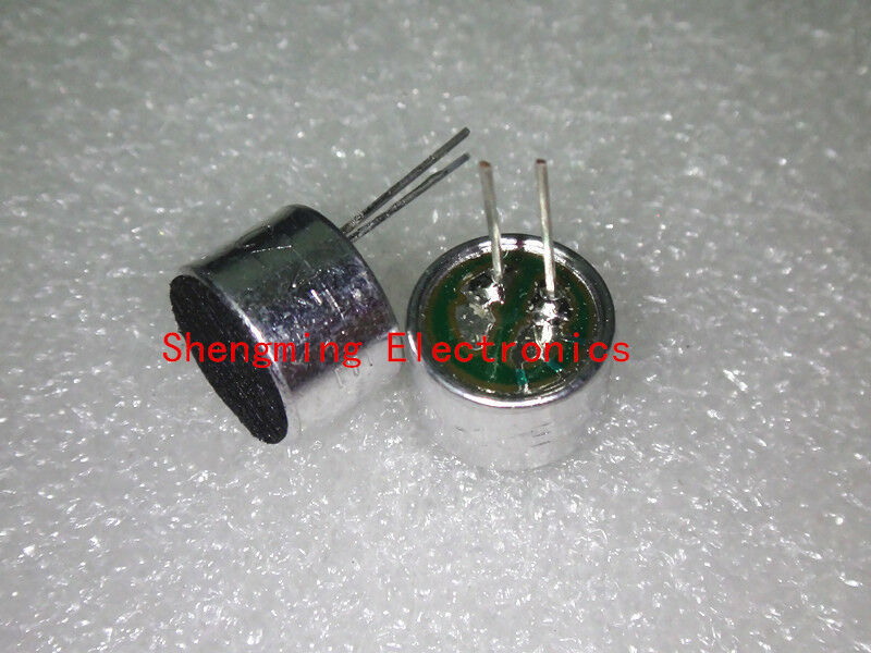 100pcs 9x7 2pins electret microphone pick-up 9*7mm 52DB