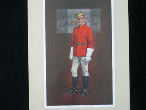 Coloured RCMP period uniform pictures