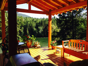 FOR RENT, on the Clearwater River fully furnished, 3 locations