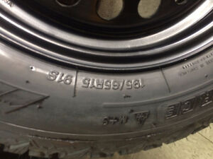 BRAND NEW WINTER TIRES ON RIMS WITH TPMS SENSORS Regina Regina Area image 3