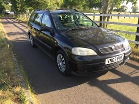 2003 Vauxhall/Opel Astra 1.7 DTi 16v LS Estate DIESEL - ONLY 1 FORMER KEEPER
