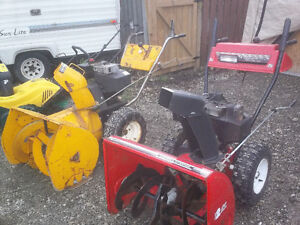 Snowblower's for Sale + Service and Repairs Stratford Kitchener Area image 2