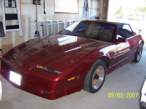 1987 Pontiac Firebird Trans Am GTA 305 TPI Auto Flame Red
