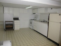 One bedroom Dows Lake Area - All Inclusive Spacious Basement