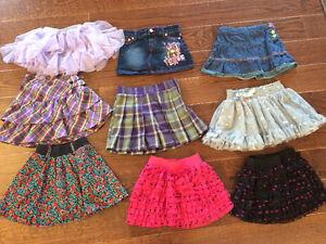 Size 4-5 skirts