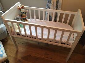 Mothercare Crib and Crib Mattress