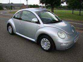 Volkswagen Beetle 1.6 3-Dr 2002 52 Only 78000 Miles FSH