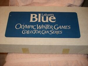 Labatts Blue Olympic Winter Games Collector Can Series