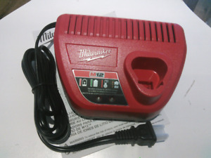 M12 Milwaukee battery charger new/unused