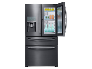 Réfrigérateur 27,8 pi³ Stainless Noir de Samsung ( RF28JBEDBSG )
