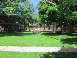 2 bedroom apartment & townhouse available for Jan. & Feb.